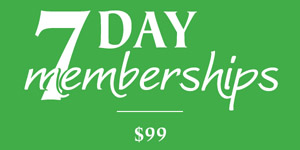 Hawks Eye Golf Bellaire Michigan 7 Day Membership